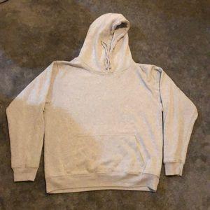 Brandy Melville gray oversized hoodie